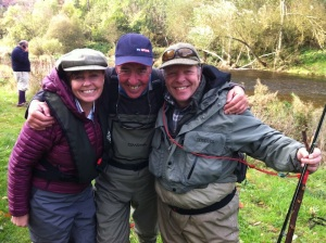 Sky Sports Filming Bluestone Beat FishTweed